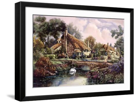 Village Of Dorset-Carl Valente-Framed Art Print