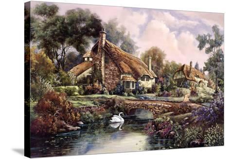 Village Of Dorset-Carl Valente-Stretched Canvas Print