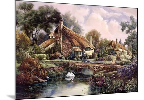 Village Of Dorset-Carl Valente-Mounted Art Print