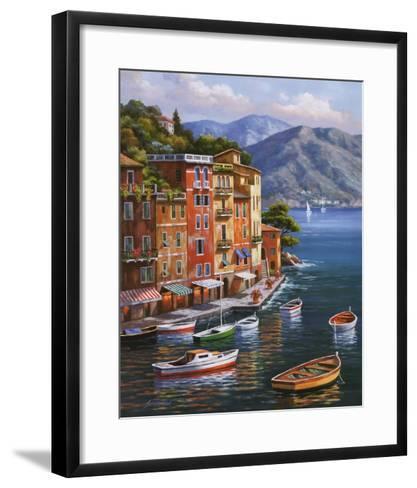 Villagio Del Porto-Sung Kim-Framed Art Print