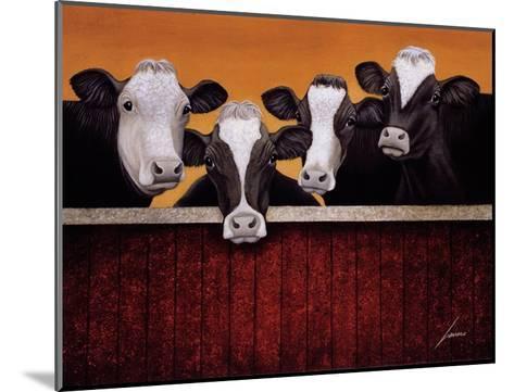 Waiting For Company-Lowell Herrero-Mounted Art Print
