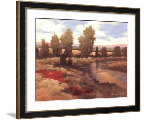 Warm Spring I-Kanayo Ede-Framed Art Print