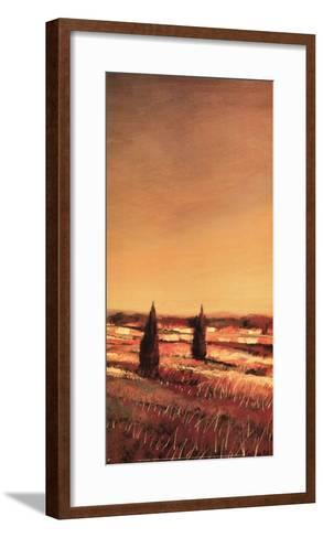 Flowing Fields II-Claire Olivain-Framed Art Print