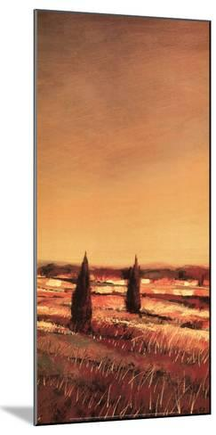 Flowing Fields II-Claire Olivain-Mounted Art Print