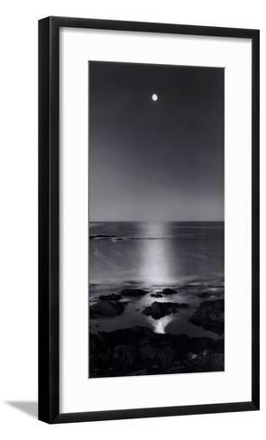 Full Moon Sea-Stephen Rutherford-Bate-Framed Art Print