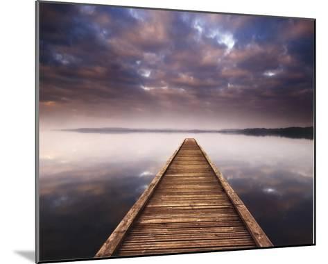 Lake Walk III-Jonathan Critchley-Mounted Art Print