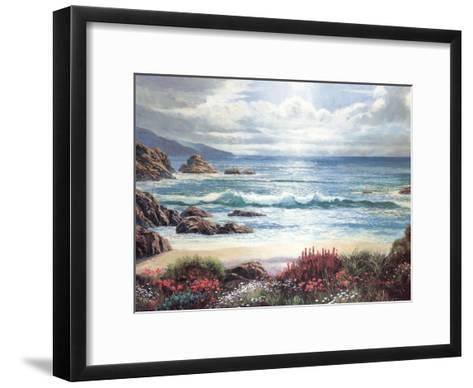 Blossoms By The Ocean-Nenad Mirkovich-Framed Art Print