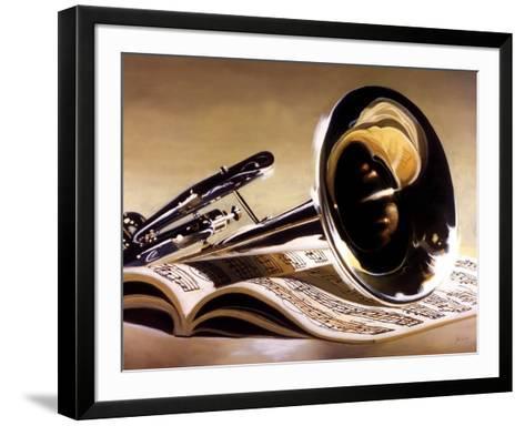 Performance-Denard Stalling-Framed Art Print