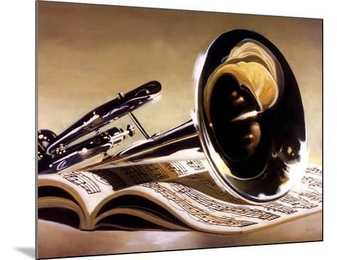 Performance-Denard Stalling-Mounted Art Print