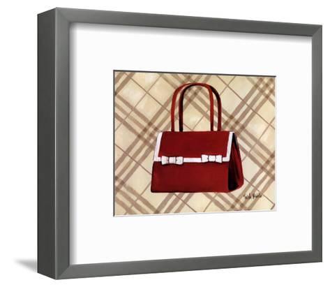 Petit Sac Rouge II-Trish Biddle-Framed Art Print
