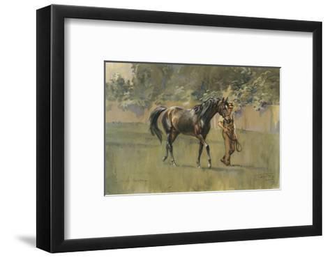 Bahram-Lionel Edwards-Framed Art Print