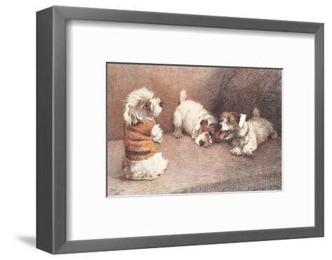 A Figure Of Fun-Cecil Aldin-Framed Art Print