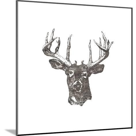 Big Buck-Sheldon Lewis-Mounted Art Print