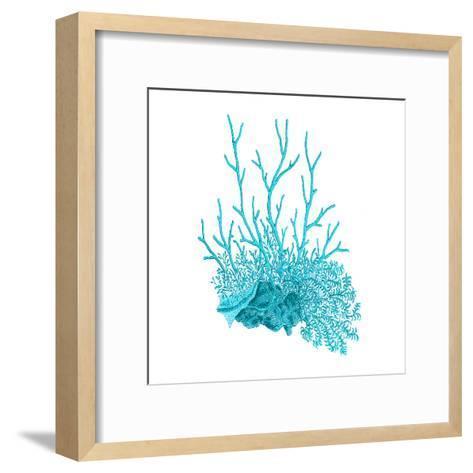 Blue Coral 2-Sheldon Lewis-Framed Art Print