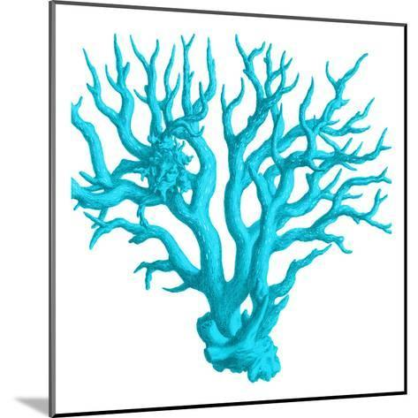 Blue Coral 3-Sheldon Lewis-Mounted Art Print