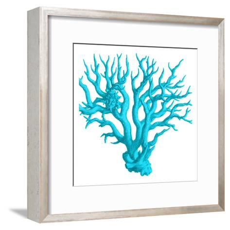 Blue Coral 3-Sheldon Lewis-Framed Art Print