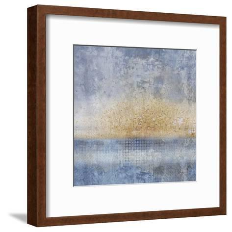 In Blue 1-Kimberly Allen-Framed Art Print
