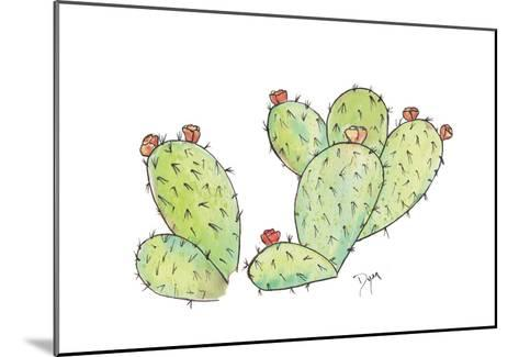 Prickly-Beverly Dyer-Mounted Art Print