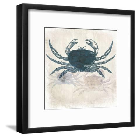 Crab Coast Vision-Kimberly Allen-Framed Art Print