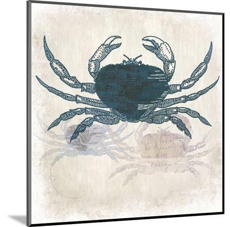 Crab Coast Vision-Kimberly Allen-Mounted Art Print