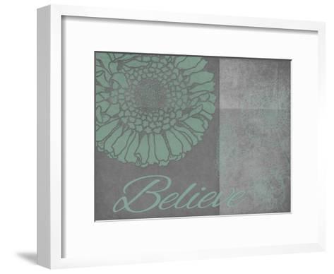 Floral Believe 6-Tina Carlson-Framed Art Print