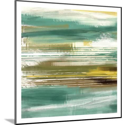 Cynthia Lines 1-Cynthia Alvarez-Mounted Art Print