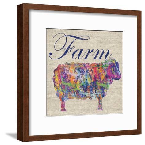 Sheep Farm-Lauren Gibbons-Framed Art Print
