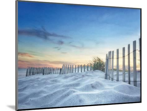 Fenced Sunset-Joseph Rowland-Mounted Art Print