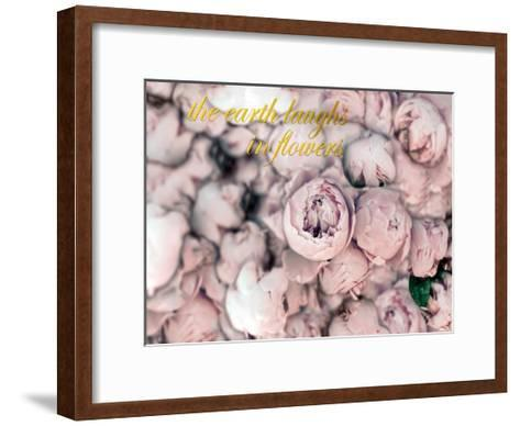 Laugh Flowers-Tracey Telik-Framed Art Print