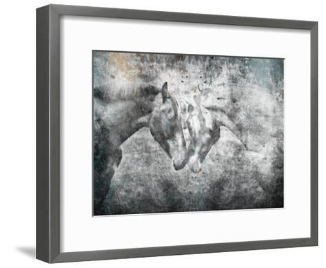 Love Horses-OnRei-Framed Art Print