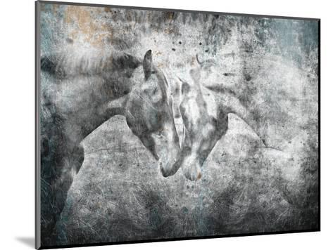 Love Horses-OnRei-Mounted Art Print