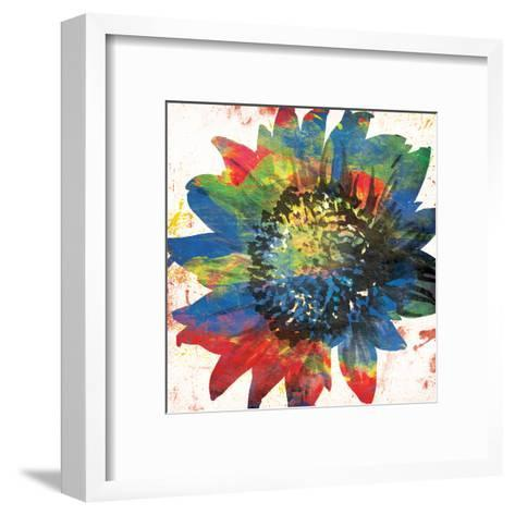 Flower On The Bright Side-OnRei-Framed Art Print