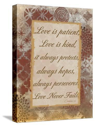 Loving Corinthians-Smith Haynes-Stretched Canvas Print