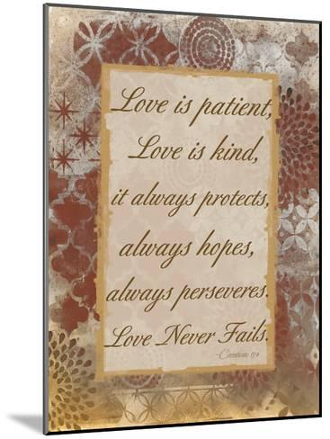 Loving Corinthians-Smith Haynes-Mounted Art Print