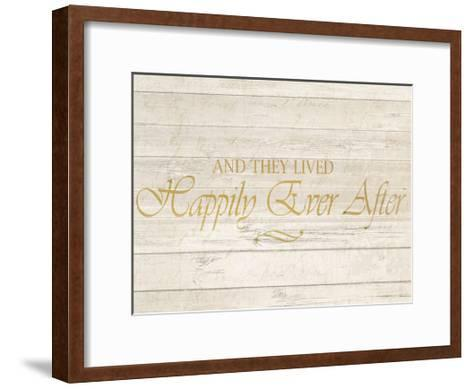 Happily Ever After-Kimberly Allen-Framed Art Print
