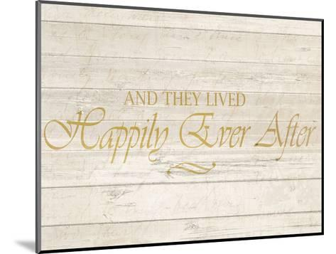 Happily Ever After-Kimberly Allen-Mounted Art Print