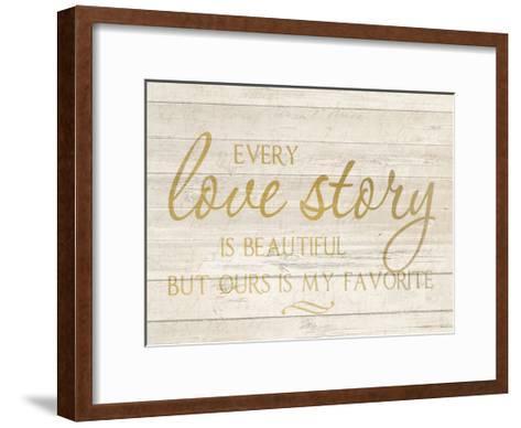 Love Story-Kimberly Allen-Framed Art Print
