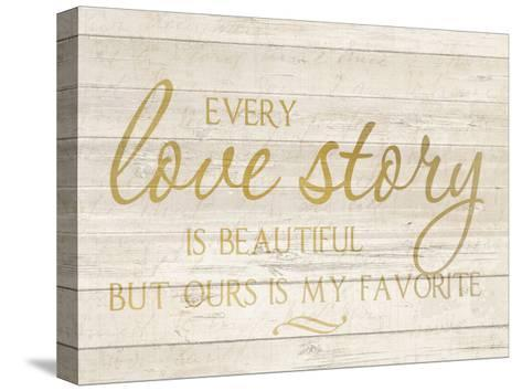 Love Story-Kimberly Allen-Stretched Canvas Print