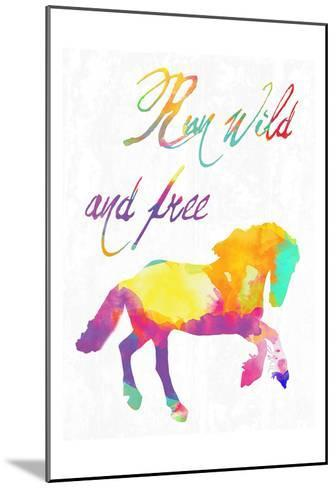 Gypsy Free-Sheldon Lewis-Mounted Art Print