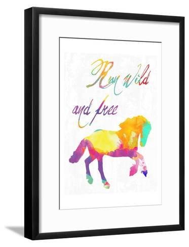 Gypsy Free-Sheldon Lewis-Framed Art Print