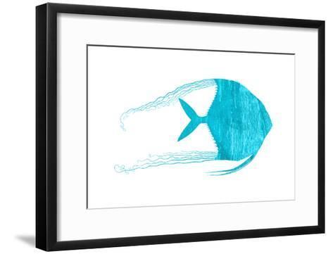 Blue Angel-Sheldon Lewis-Framed Art Print