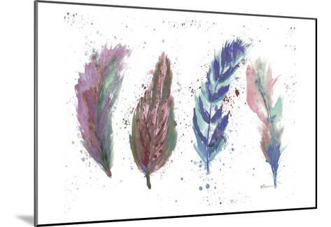 Natures Feathers-Victoria Brown-Mounted Art Print