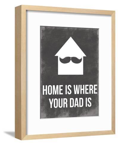 Dads Home-Jace Grey-Framed Art Print