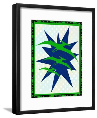Dinosaur 2-Kimberly Allen-Framed Art Print