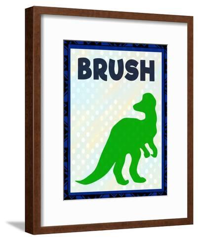 Brush-Kimberly Allen-Framed Art Print
