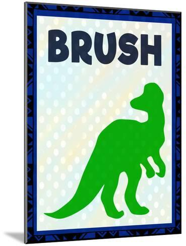 Brush-Kimberly Allen-Mounted Art Print