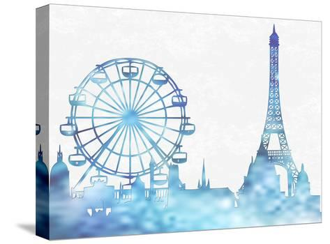 Good Old Parisian Fun-Sheldon Lewis-Stretched Canvas Print
