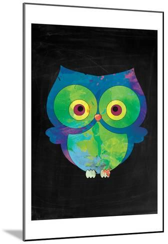 Owl-Victoria Brown-Mounted Art Print