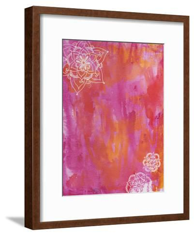Seeking Pink-Pam Varacek-Framed Art Print