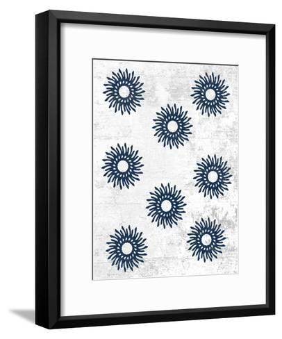 Indigo Sky 2-Sheldon Lewis-Framed Art Print
